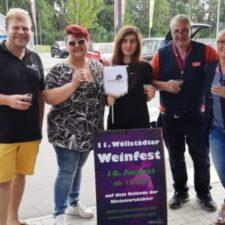 Weinfest im REWE-Markt