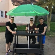 Bilder: Bollerwagenbau 2018