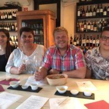 Weinprobe bei Hanns Fertsch